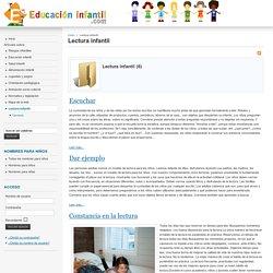 Lectura infantil - Educacion Infantil