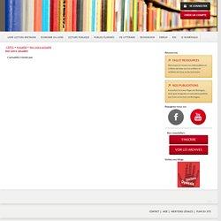 Livre et lecture en Bretagne » Voir notre actualité