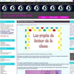 lecture CP - La classe de Frisettes