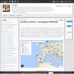 Cartographie numérique d'un roman - La tunique d'infamie (Brenda)