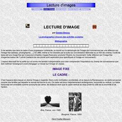 Lecture d'images