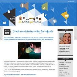 Etude sur la lecture chez les enfants – Le blog de La Souris Qui Raconte