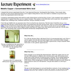 Lecture Experiment