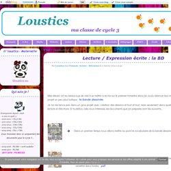 Lecture / Expression écrite : la BD