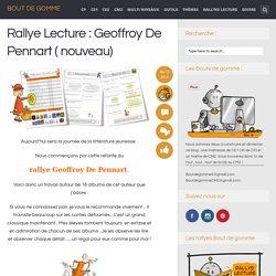 Rallye Lecture : Geoffroy De Pennart ( nouveau)