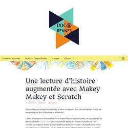 Une lecture d'histoire augmentée avec Makey Makey et Scratch
