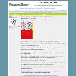 [Fiche lecture] ImproConcept de Julien Gigault