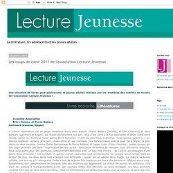 Coups de coeur 2011-Le blog de Lecture Jeunesse