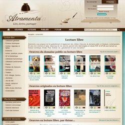 Lecture libre et ebooks gratuits