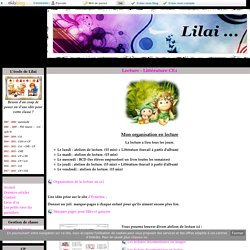Lecture - Littérature CE1