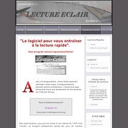 Lecture Rapide: Logiciel Lecture rapide pour augmenter votre vitesse de lecture