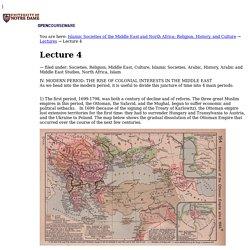 Lecture 4 — Notre Dame OpenCourseWare