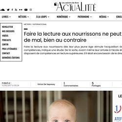 Faire la lecture aux nourrissons ne peut pas faire de mal, bien au contraire