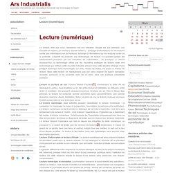 Lecture (numérique)