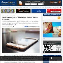La lecture de presse numérique bientôt devant le papier