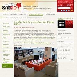 Un salon de lecture numérique aux Champs Libres