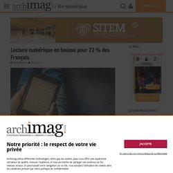 Lecture numérique en hausse pour 72 % des Français