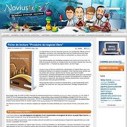 """Fiche de lecture """"Produire du logiciel libre"""" - livre, logiciel-libre, open-source, planet-libre - Novius Labs"""