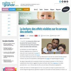 La lecture: des effets visibles sur le cerveau des enfants