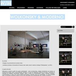 les lectures de SERGUEI WOLKONSKY