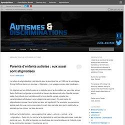 Autismes et discriminations