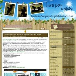 Un site de lectures courtes et gratuites dédié aux jeunes lecteurs de 8-12 ans uniquement