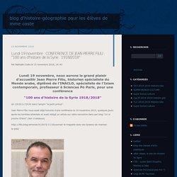 Lectures du monde : blog d'HG Terminales