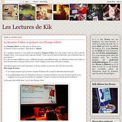La Semaine d'Alice se prépare aux Champs Libres