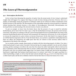 The Feynman Lectures on Physics Vol. I Ch. 44: The Laws of Thermodynamics