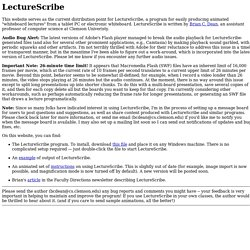 LectureScribe