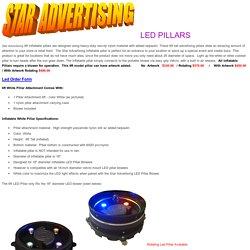LED Advertising Pillars