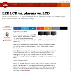 Lcd and led,oled,plasma | Pearltrees