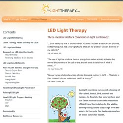 LED Light Therapy for Healing