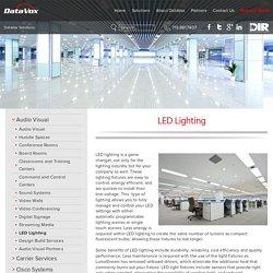 LED Lighting - DataVox