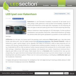 LED lyset over København