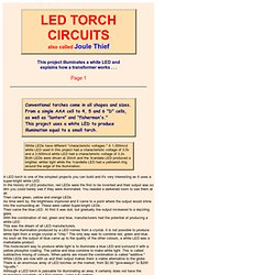 TALKING ELECTRONICS LED Torch