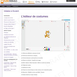 Lediteur-De-Costumes / Initiation à Scratch