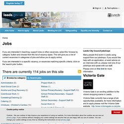 Leeds City Council - Jobs and careers