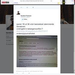 """Gordon Freeman on Twitter: """"waren 18 vd 36 vóór leenstelsel stemmende Senatoren vrstrngeld in belangenconflict ? #defractie #maagdenhuis #NOT2017 onderwijsjournalistiek"""