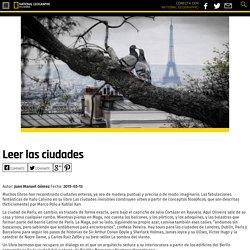 Leer las ciudades