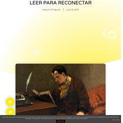 LEER PARA RECONECTAR - Literocio