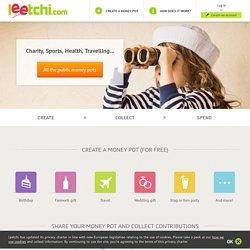 Leetchi.com - La cagnotte en ligne de référence, gratuite et sécurisée