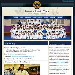 LeewardJudo Club - Home