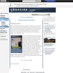 Legacies - Myths and Legends - England - Derby - Living with the plague - Article Page 1
