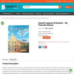 Shop Online Karachi Legacies of Empires Books