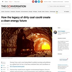 How the legacy of dirty coal could create a clean energy future
