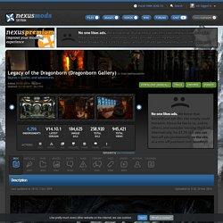 Legacy of the Dragonborn (Dragonborn Gallery) at Skyrim Nexus