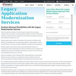 Legacy Modernization Services, Legacy System Modernization