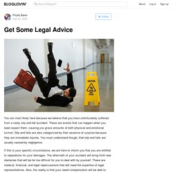Get Some Legal Advice on Slip and Fall Accident