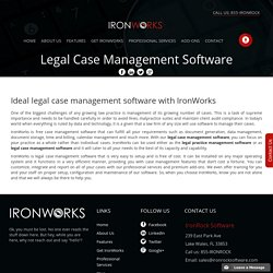legal practice management software: This Is What Professionals Do